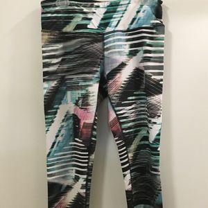 Abstract Workout Pants